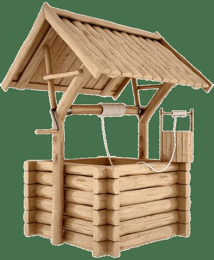 Процесс очищения колодца в Хотьково