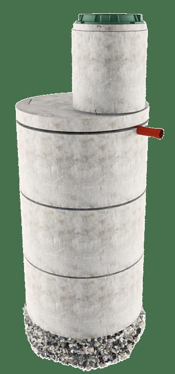 Септик из бетонных колец в Хотьково